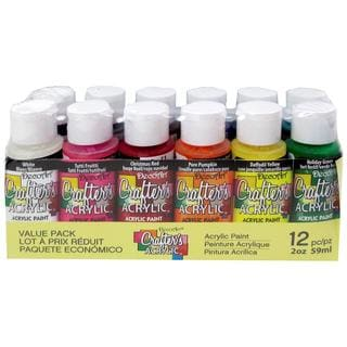 Decoart Crafter's Value Pack Acrylic 12pc