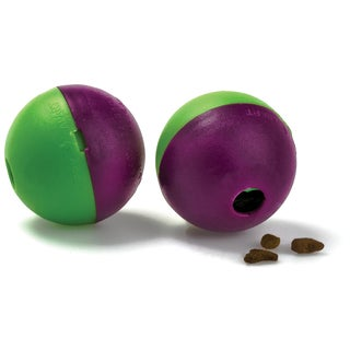 Pet Zone Play-N-Treat Balls 2 Count