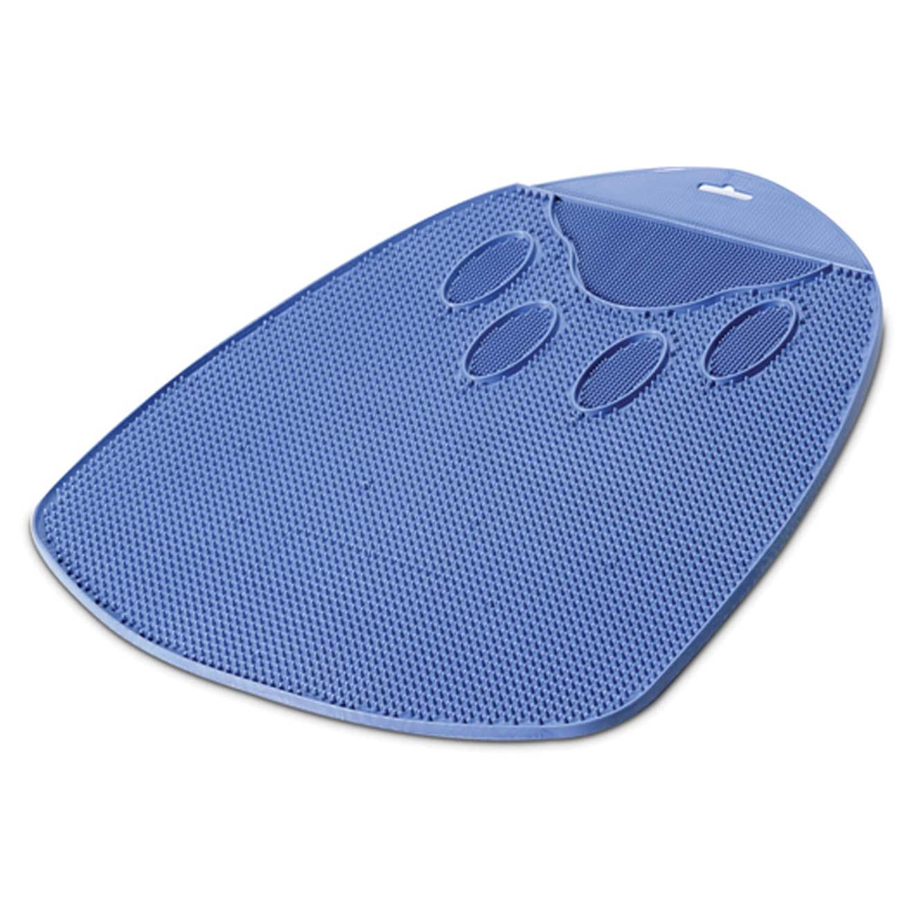 Petmate Blue Flexible Rubber Cat Litter Mat (Blue)