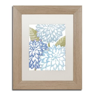 Color Bakery 'Sea Dahlias I' Matted Framed Art