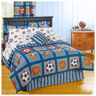 Sport's Patch 8-piece Bed in a Bag Set