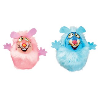 Petmate Classic Fluff Bunnies Cat Toy