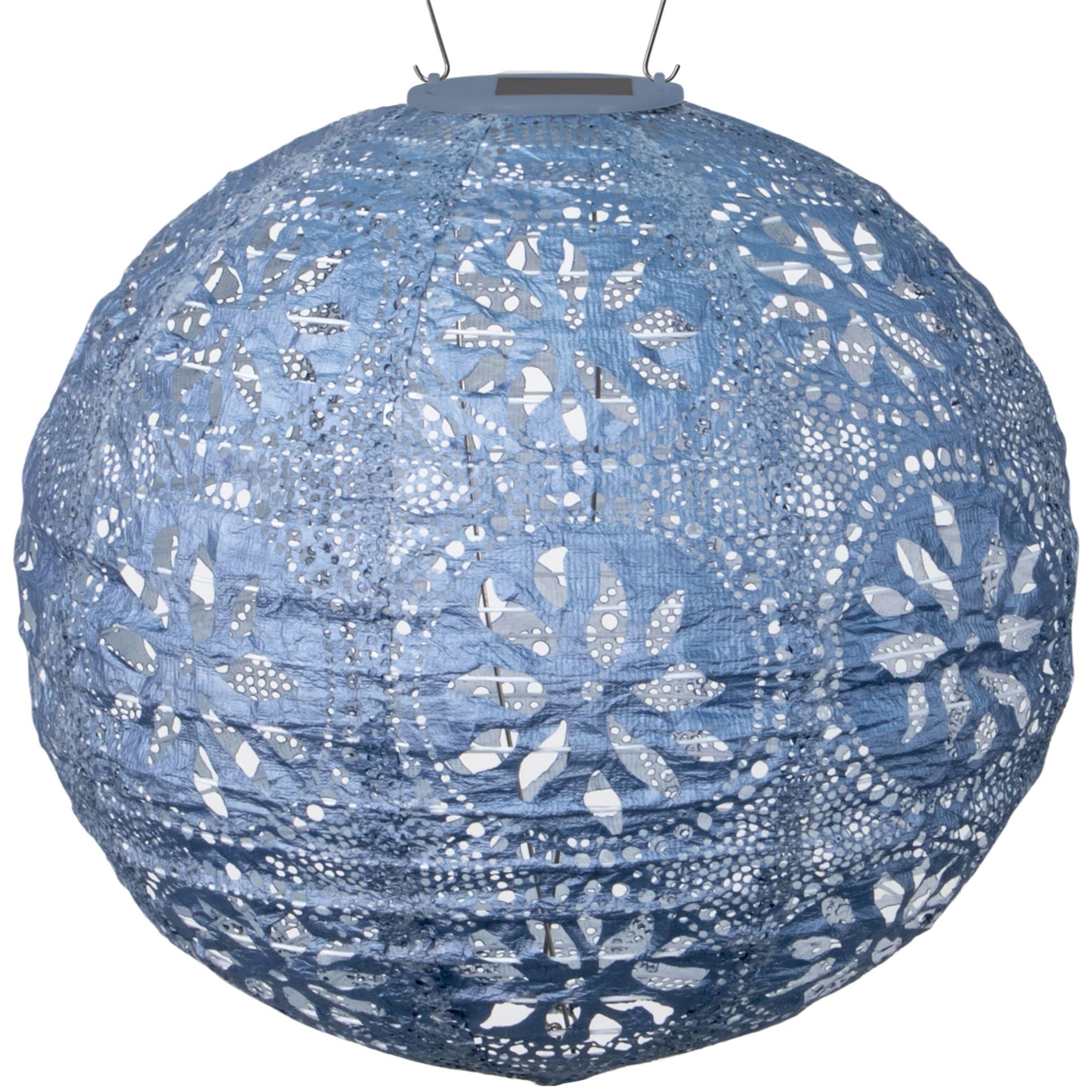 Allsop Soji Stella Boho Globe - Metallic Blue (Plastic)