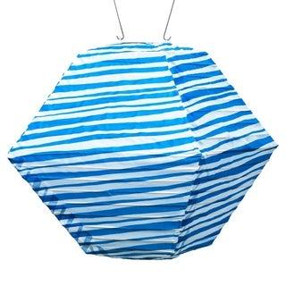 Soji Blue Stripe Rhombus