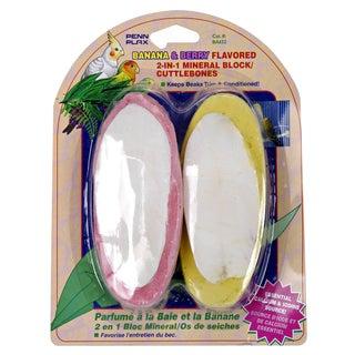 Penn Plax Banana & Berry Flavored 2 In 1 Bird Supplement 2 Count