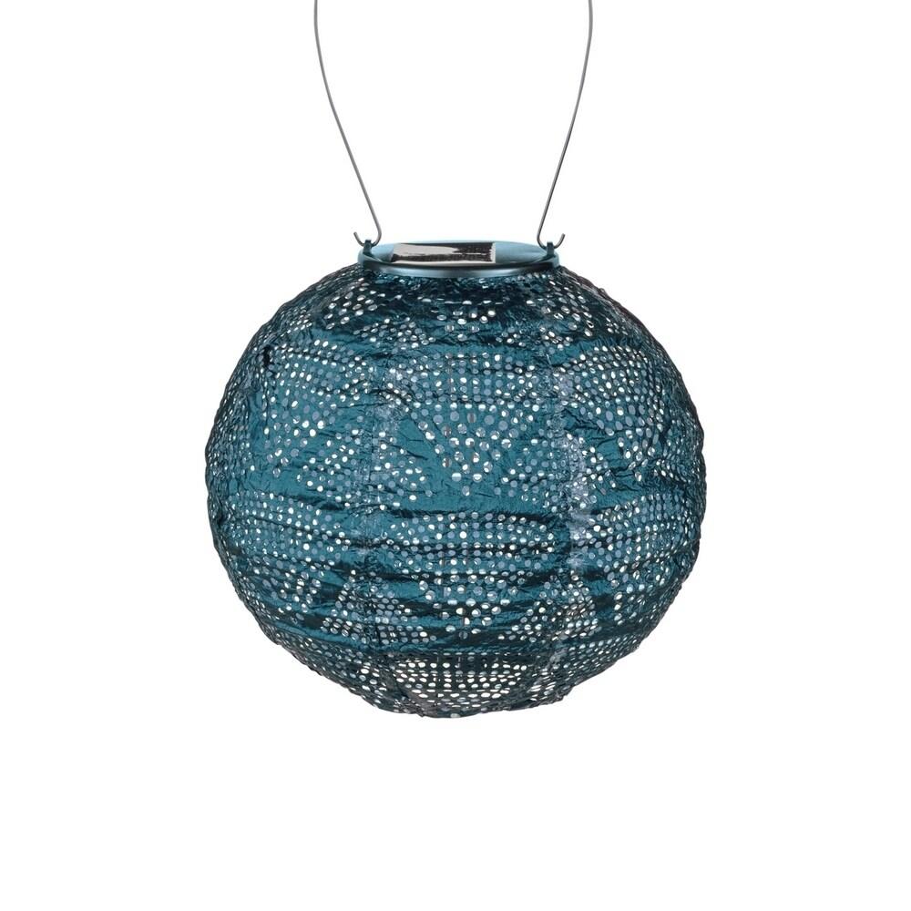 Allsop Soji Stella Globe - Ink Wave, Blue (Stainless Steel)