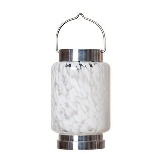 Solar Boaters Lantern - White Cylinder