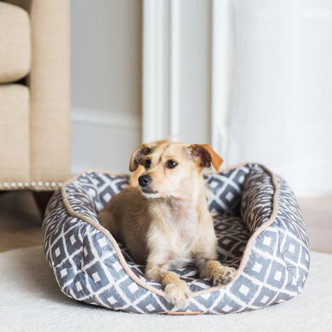 Snoozzy Ikat Ease Drawer Pet Bed