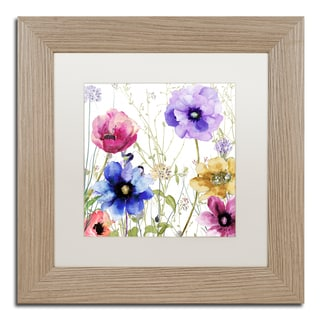 Color Bakery 'Summer Diary II' Matted Framed Art