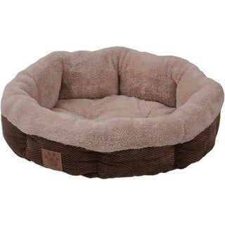 Precision Snoozzy Shearling Round Pet Bed
