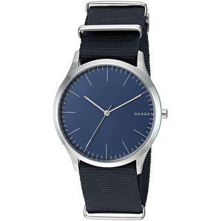 Skagen Men's SKW6364 'Jorn' Blue Nylon Watch
