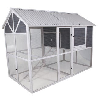 Precision Garden Walk-in Chicken Coop