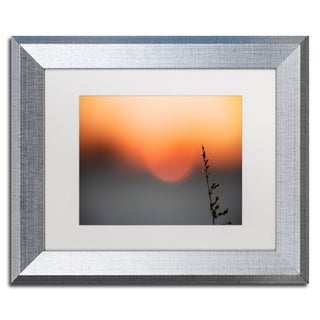 Yale Gurney 'Sundown' Matted Framed Art
