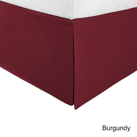 Miranda Haus Telesco Microfiber 15-inch Drop Bedskirt