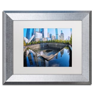 CATeyes '911 Memorial' Matted Framed Art