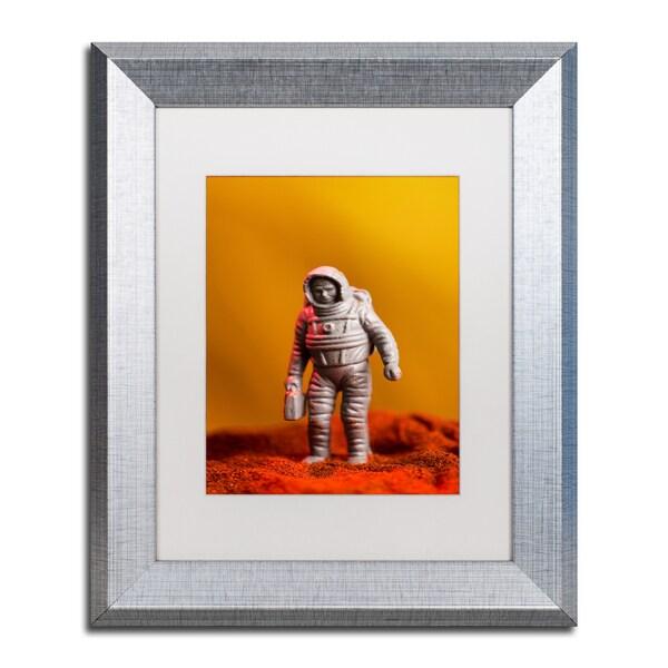 Jason Shaffer 'Spaceman' Matted Framed Art