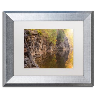 Jason Shaffer 'Peasley Hollow 2' Matted Framed Art