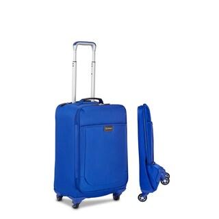 Biaggi Leggero 22-inch Foldable Carry-on Spinner Upright Suitcase