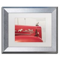 Jason Shaffer 'Mack Truck 2' Matted Framed Art