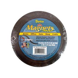 "Darice Magnet Strip .5"" Adhesive Back 25ft"