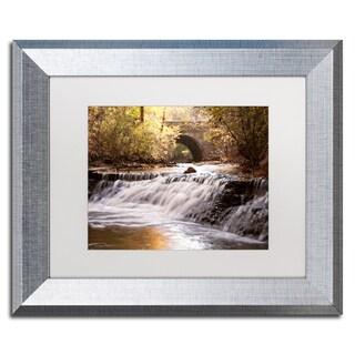 Jason Shaffer 'Avon Falls' Matted Framed Art
