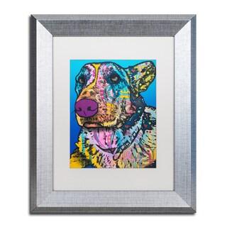 Dean Russo 'Walter 12' Matted Framed Art