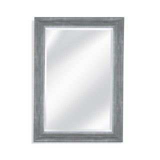 Bassett Mirror Lail Grey Resin Wall Mirror