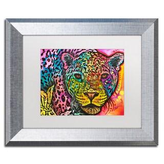 Dean Russo 'Leopard' Matted Framed Art