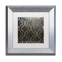 Color Bakery 'Paris Apartment III' Matted Framed Art - Black