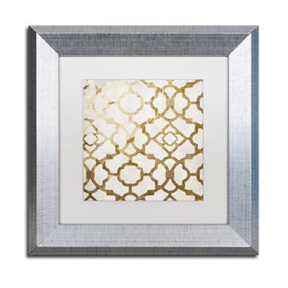 Color Bakery 'Moroccan Gold II' Matted Framed Art