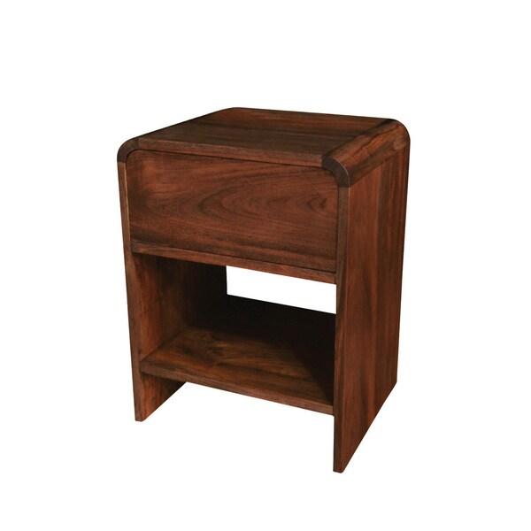 teak24 handmade nes patrick solid teak 24 inch side table nightstand essen offnungszeiten