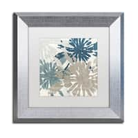 Color Bakery 'Beach Curry IV' Matted Framed Art