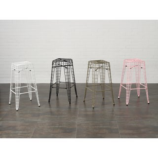 Filo 30-inch Metal Bar Stools (Set of 2)