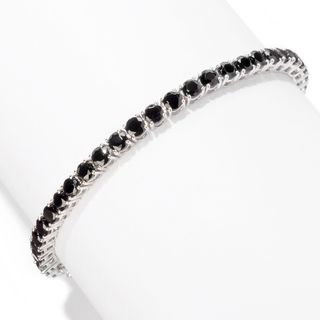 Sterling Silver Round Tennis Bracelet with choice of Gemstones