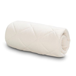 Serta Naturally Pure Wool Mattress Topper - White