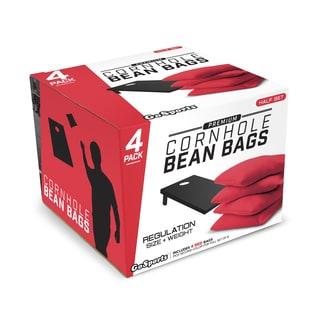 GoSports Red Premium Bean Bags (Set of 4)