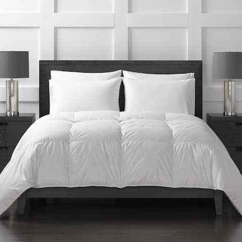 Sharper Image All Season White Goose Down Comforter