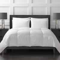 Sharper Image All Season White Goose Down Comforter