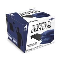 GoSports Navy Blue Premium Bean Bags (Set of 4)