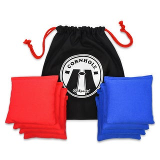 GoSports Premium All-Weather Duck Cloth Cornhole Bean Bag Set and Tote Bag