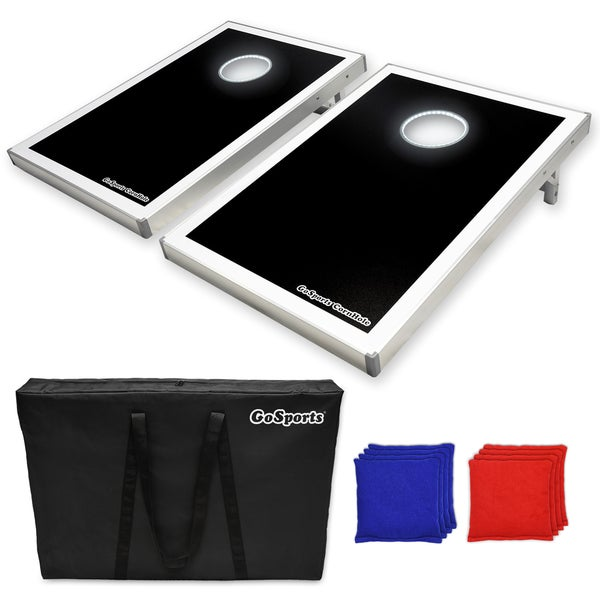 GoSports LED Light Up Cornhole Tailgate Size