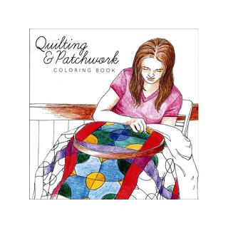 Creative Coloring Quilting and Patchwork Coloring Book