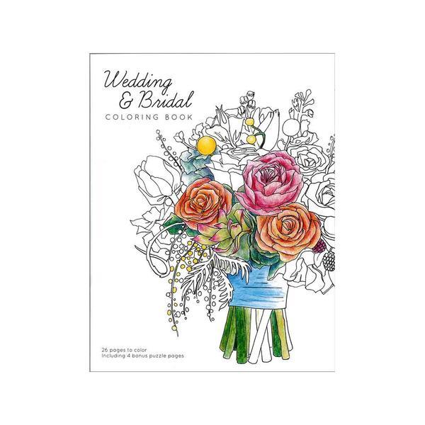 Creative Coloring Wedding and Bridal Coloring Book