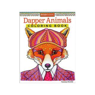 Design Originals Dapper Animals Coloring Book