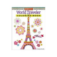 Design Originals World Traveler Coloring Book