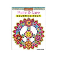 Design Originals Peace and Love Coloring Book