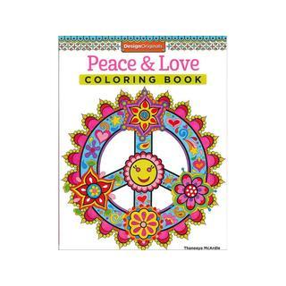 Design Originals Peace and Love Coloring Book