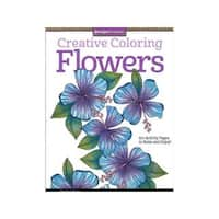 Design Originals Flowers Coloring Book