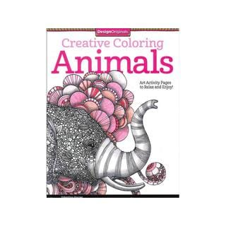 Design Originals Animals Coloring Book