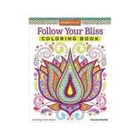 Design Originals Follow Your Bliss Coloring Book